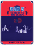 Turn on to the Cream, KPPC Radio, Los Angeles 1968 Plakater af Bob Masse