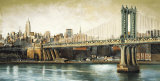 Manhattan Bridge View Posters par Matthew Daniels