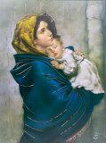 Madona dos pobres Pôsters por Roberto Ferruzzi