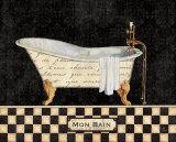 French Bathtub I Poster