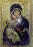 Vladmir Icon of the Mother of God Posters