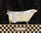 French Bathtub II Kunst