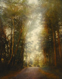 Road of Mysteries II Prints by Amy Melious