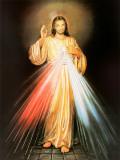Barmhartige Jezus Poster