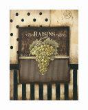 Raisins Prints by Kimberly Poloson