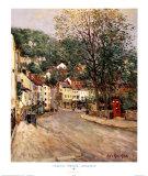 Street In Matlock, Derbyshire Poster by Jean Kevorkian