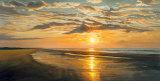 Tranquilidad a la orilla del mar Arte por Dan Werner