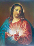 Sacred Heart of Jesus Posters af Pompeo Batoni