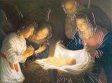 The Nativity Posters by Gerrit van Honthorst