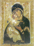 Vladmir Icon of the Mother of God Print