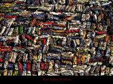 Casse d'Automobiles, Cotes d'Armor, France Prints by Yann Arthus-Bertrand