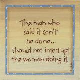 The Man Who Said Prints by Karen Tribett