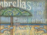 Umbrella Art by Kim Lewis