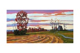 Poets Walk Landscape Giclee Print by Patty Baker