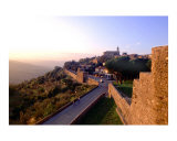 Dusk on Montalcino Photographic Print by Richard Duval