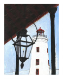 Camp Street Lighthouse Giclee Print by Jerry Schwehm