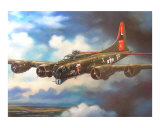 B-17 Flying Fortress Giclee Print by jack connelly