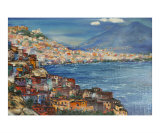 Naples today Giclee Print by Boris Kasyanov