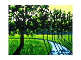 Long Green Shadows II Giclee Print by Patty Baker