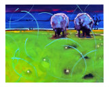 Night Sheep Giclee Print by Ann Tuck