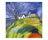 Croft at Loch Droma Giclee Print by Christina Callum Mcinally
