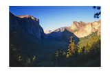 Tunnel View of the Yosemite Valley California Photographic Print by George Oze