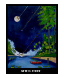 Meteor Strike Giclee Print by James F Smith