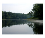 Fog and Glass on Lake Taneycomo Photographic Print by Bryce Meyer