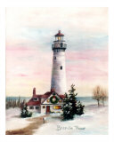 Christmas Light Giclee Print by Brenda Thour