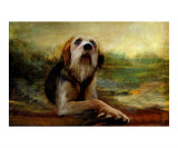 Jacobs Dog Giclee Print by Thomas Hannsz