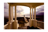 Marshall Point Sunset Viewed from a Balcony Photographic Print by George Oze