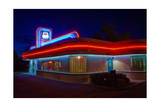 Route 66 Diner Albuquerque New Mexico Photographic Print by George Oze