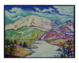 Mountain Stream Giclee Print by Mary Connors