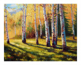 Autumn Shade Giclee Print by David G. Paul