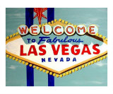 Las Vegas Sign At Daytime Giclee Print by Teo Alfonso