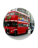 Red London Bus Photographic Print by vincent abbey