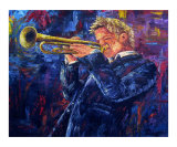 Chris Botti Reproduction procédé giclée par David G. Paul