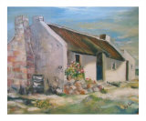 Cape cottage Giclee Print by Vivienne King