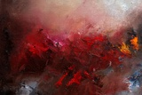 Abstract 1107 Giclee Print by  Ledent