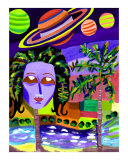 Mother Nature Giclee Print by Alma Aguado