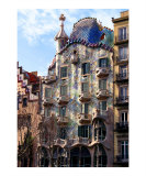 Casa Batllo, Barcelona, Spain Photographic Print by vincent abbey
