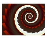 Spiral 2 Photographic Print by Vicky Brago-Mitchell