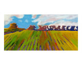 Burgh Castle Farm Giclee Print by Ann Tuck