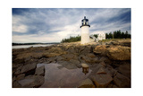 Low Angle View of The Marshall Point Lighthouse Photographic Print by George Oze