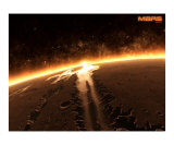 Horizons - Mars IV Photographic Print by Emailandthings