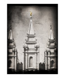 Salt Lake City Temple Photographic Print by Daniel Vineyard