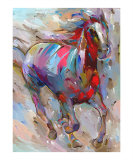 Electric Horse Number 2 Reproduction procédé giclée par Hooshang Khorasani