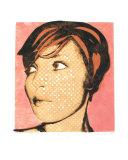 Self Portrait Pink Giclee Print by Becki Sanders