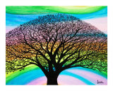Tree Oahu Giclee Print by Leanne Karlstrom