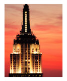 Empire State Building Sunset Photographic Print by Dw Labs 